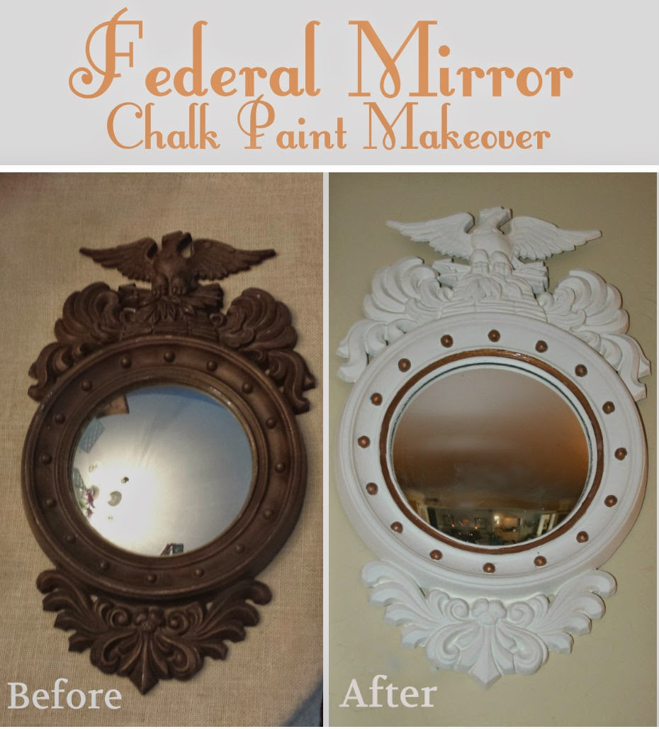 ciao newport beach a little vintage federal mirror updated a little vintage federal mirror updated