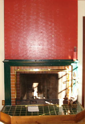 DIY Fireplace Mantel and Hearth Makeover - Fox Hollow Cottage
