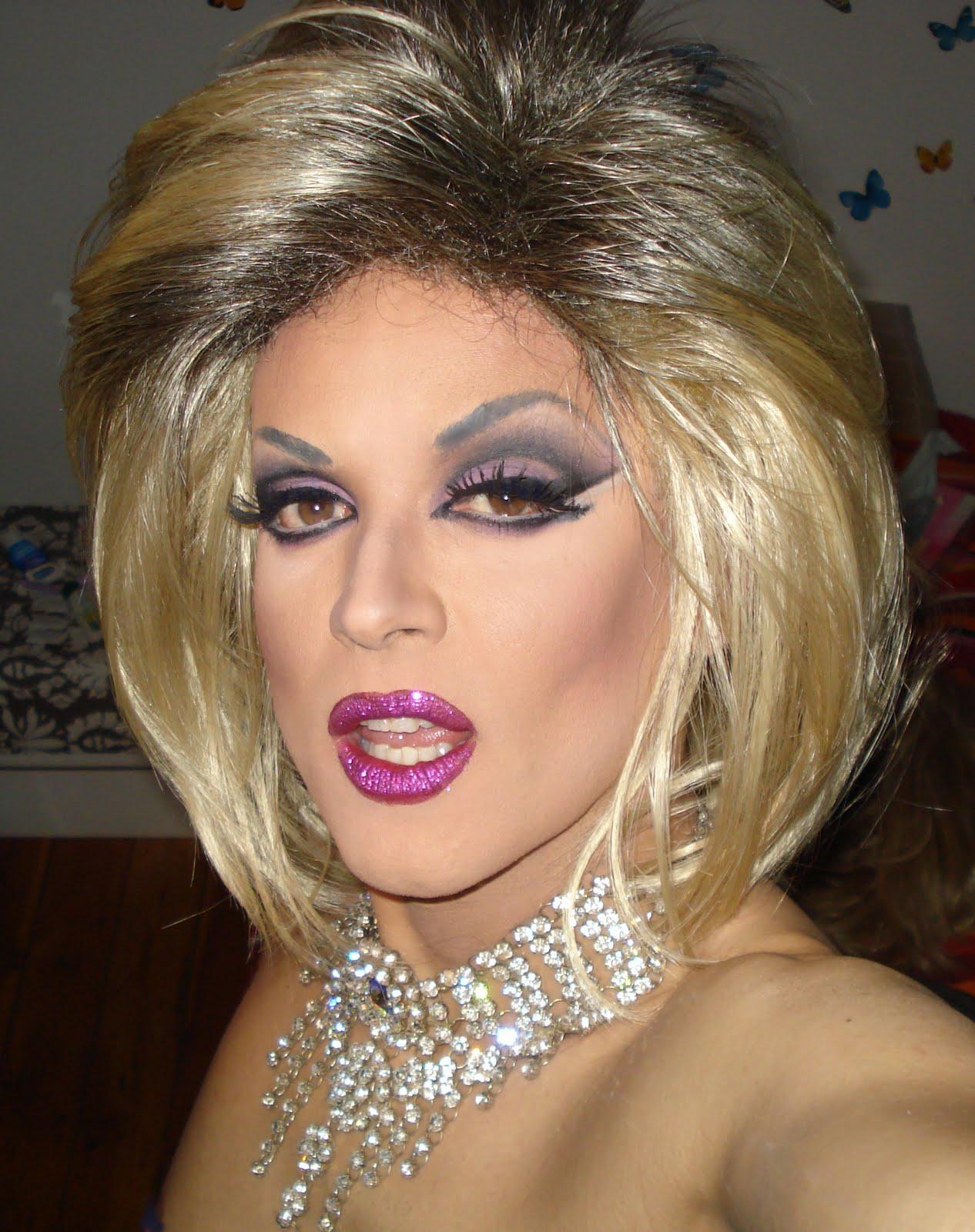 Crossdresser Great Makeup