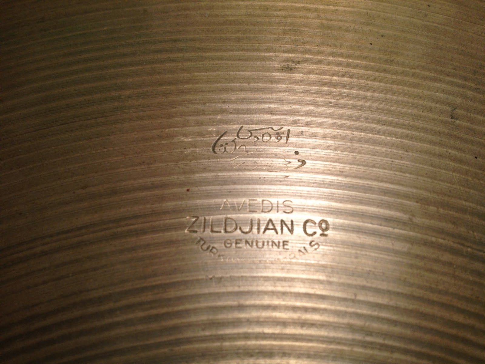 The Different Stamps of A. Zildjian Cymbals