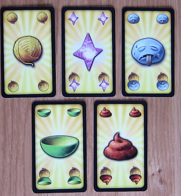 Dungeon Petz - The Yellow playfulness Needs cards