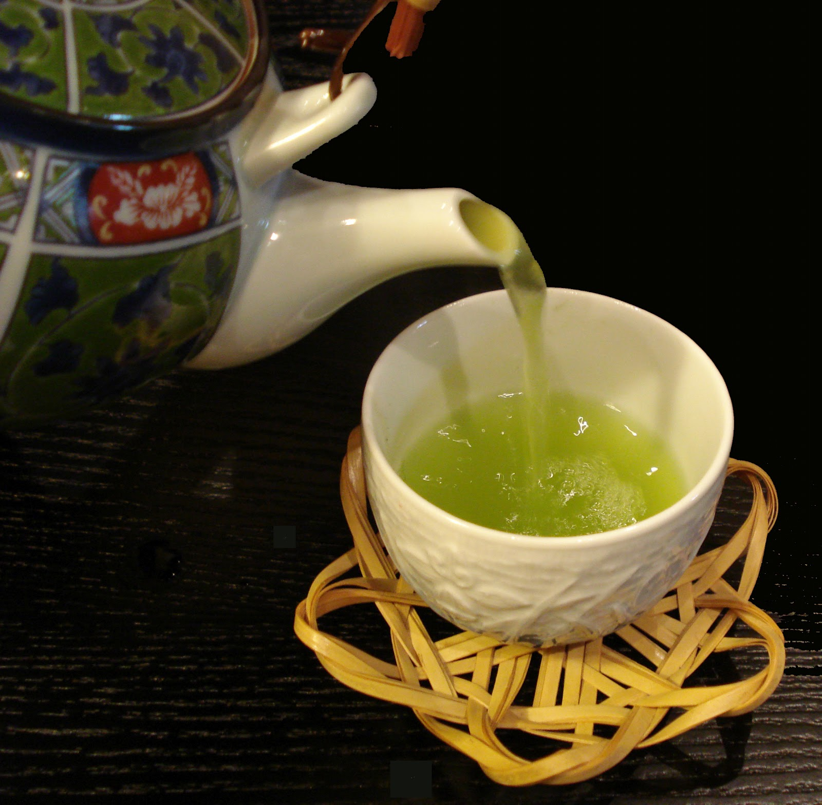 Is green tea green