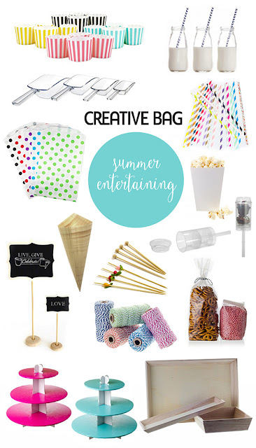summer entertaining serving products | Creative Bag