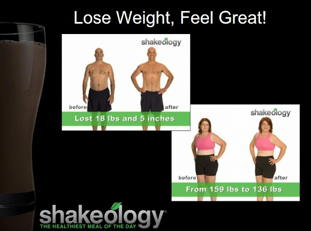 Lose weight with the Shakeology 30 Day Challenge