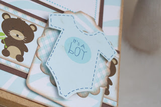 Baby Boy Mini Album Scrapbook