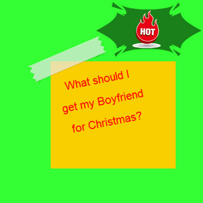 what should i get my boyfriend for christmas