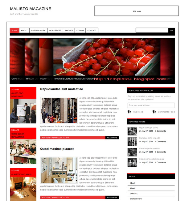 Malisto Magazine WordPress Theme