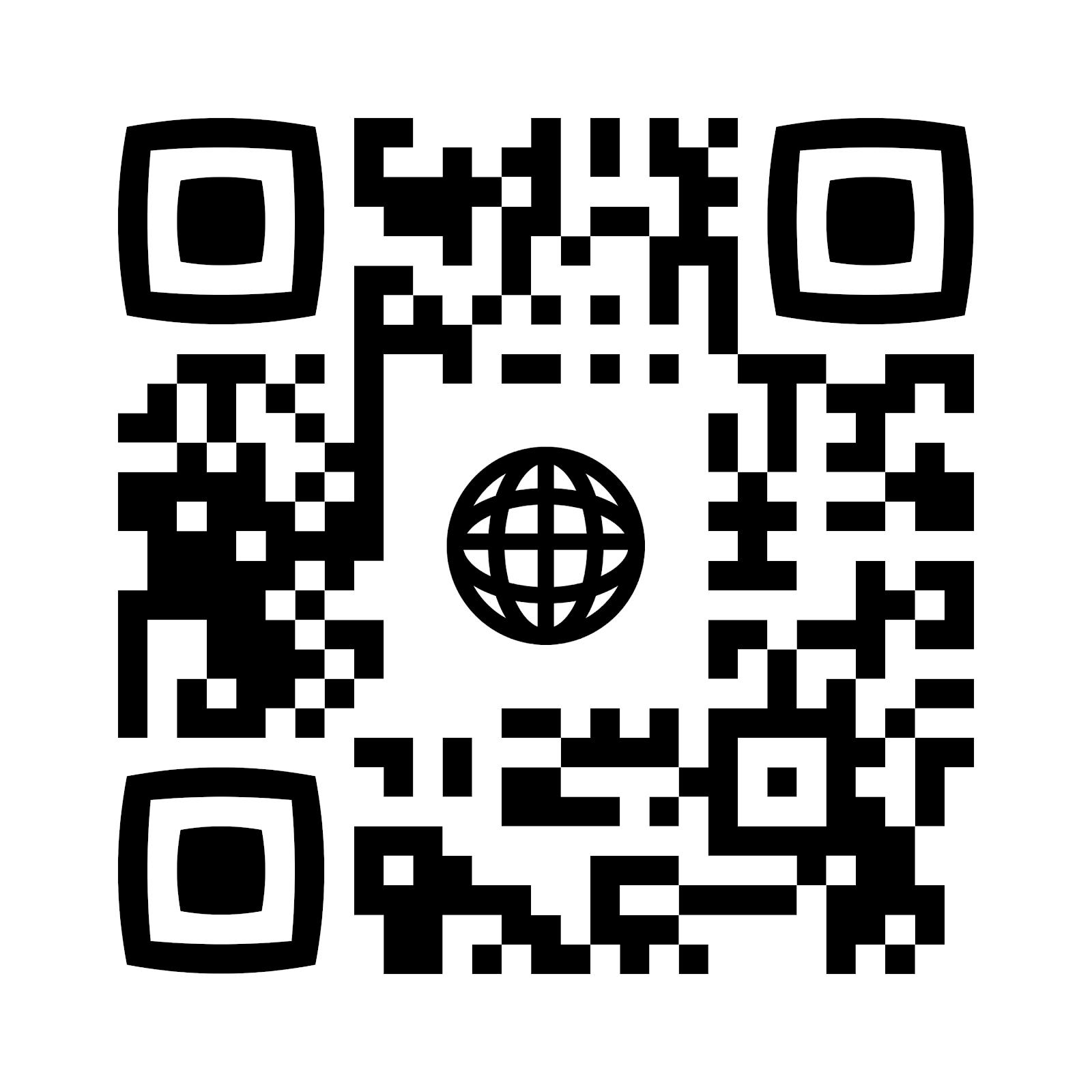 QR code сайта