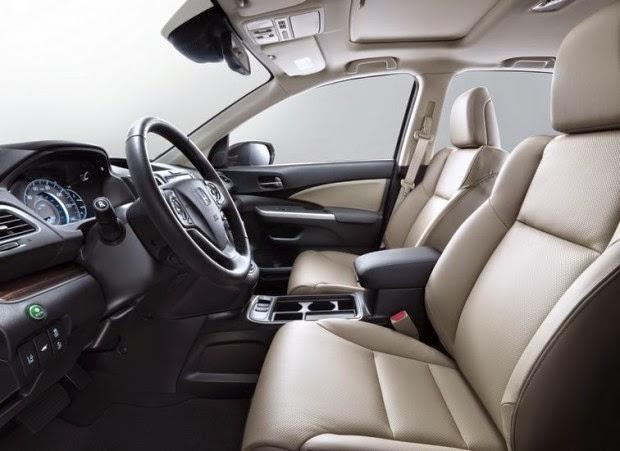 Novo Honda Crv 2015 interior acabamento interno