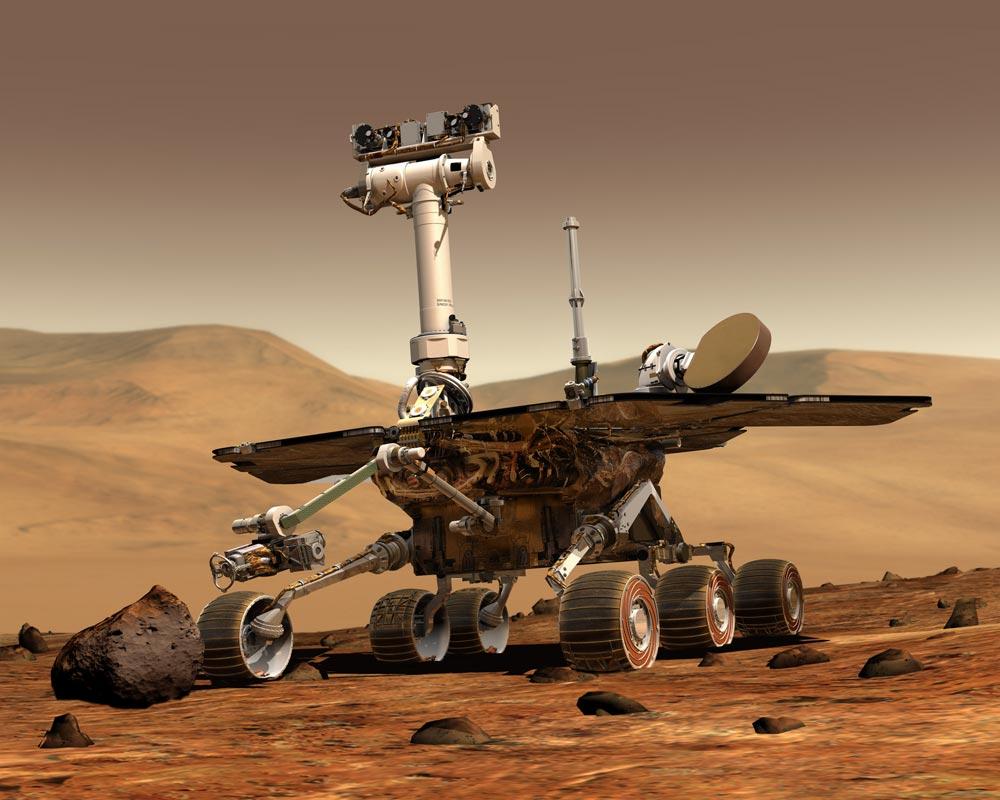 Nasa Mars Rover Spirit