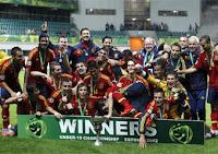 Campeã do Euro de Sub-19 de 2012 (Estónia)