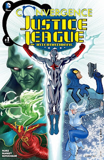 Cover of Convergence: Justice League International #1 from DC Comics