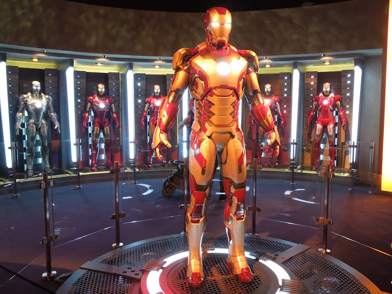 Iron Man 3 Mark 42 suit