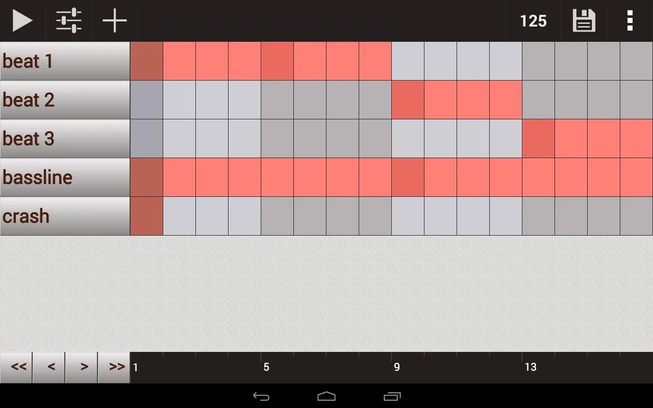 Android Beat Yapma Uygulaması GrooveMixer Apk resimi 2