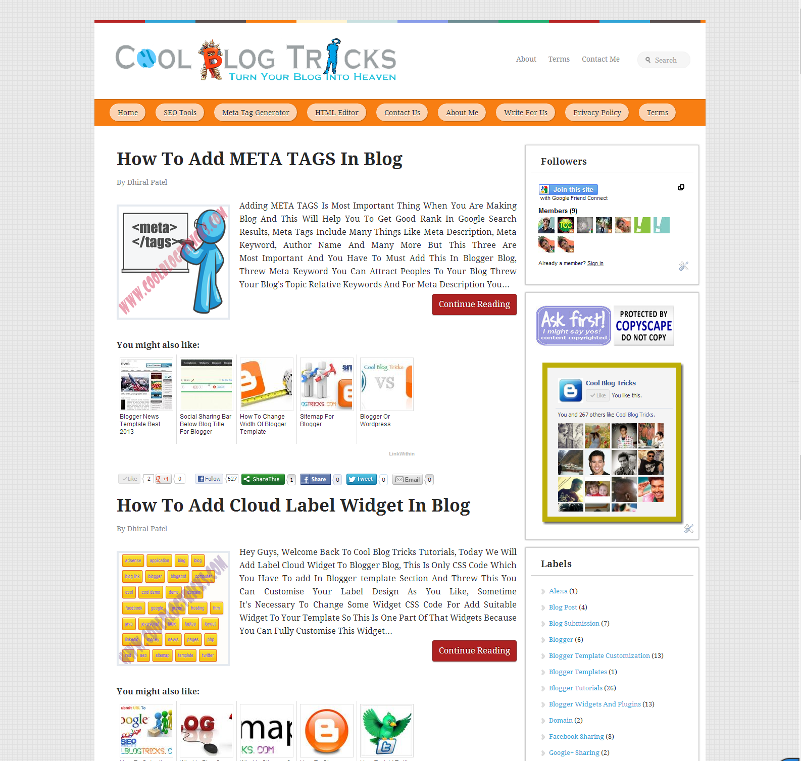 Free Download Template Blogger Seo Friendly Gratuit 2018