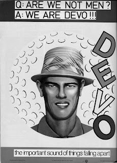 Devo's Q: Are We Not Men? A: We are Devo!