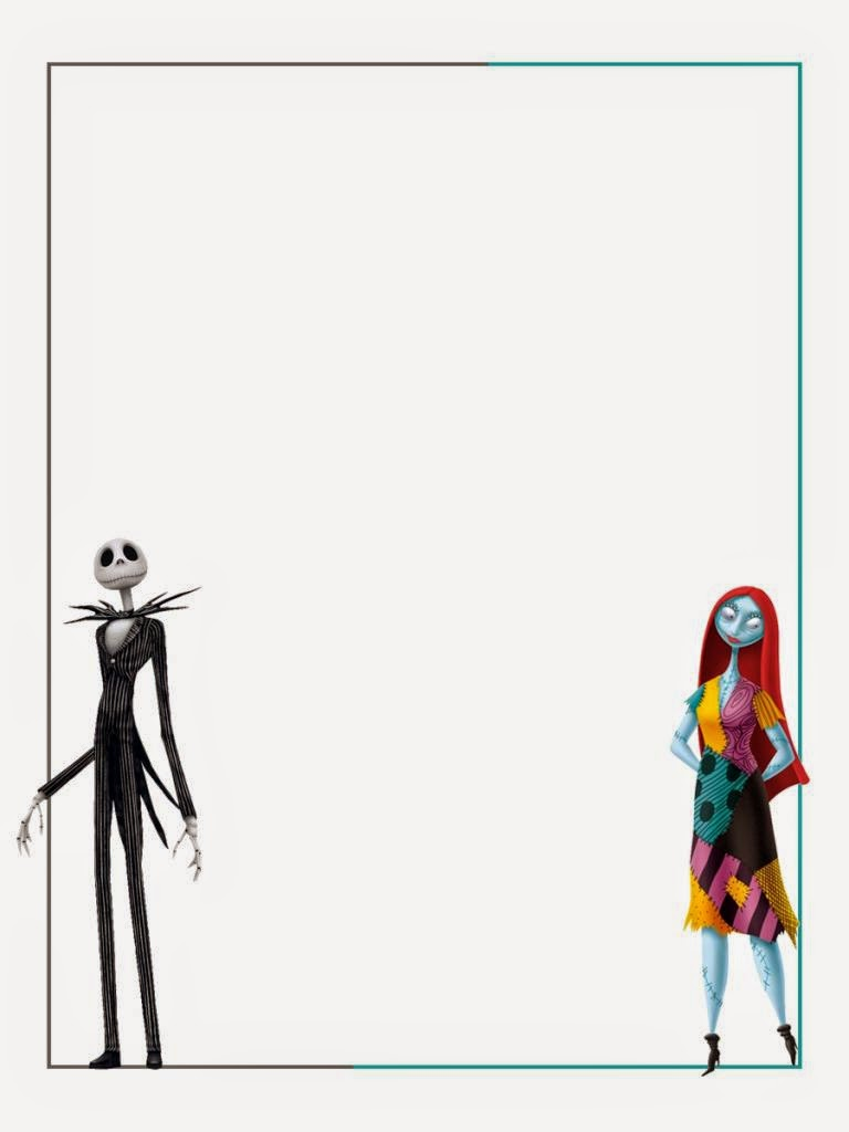 Jack Skellington Free Printable Notebook. | Is it for PARTIES? Is it FREE? Is it CUTE? Has ...