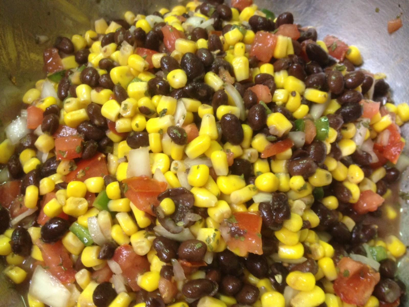The Durham Bull Pen: (Super Easy) Corn & Black Bean Salad