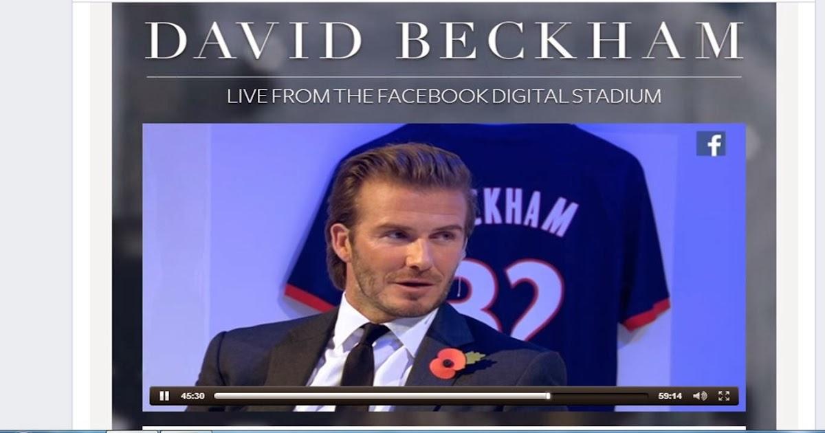 david beckham book 2013 pdf