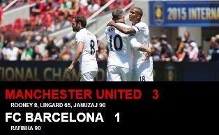 MU vs Barcelona 3-1