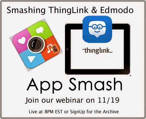 App Smashing Webinar on 11/19