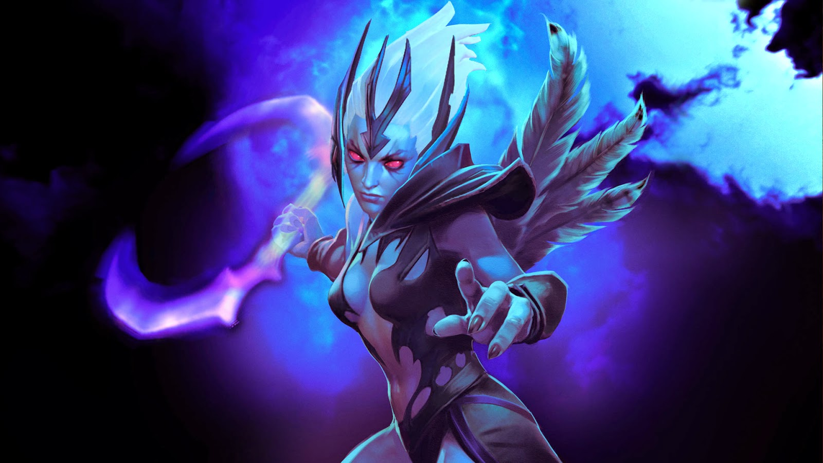 Dota 2 wallpaper vengeful spirit card 8 by eliascapo112 1920x1080
