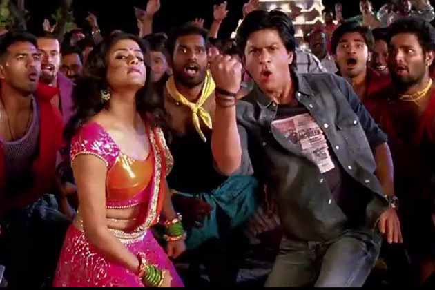 chennai express lyrics 1234 get on the dance floor song