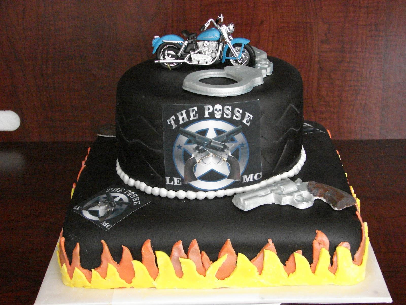 My Cake Hobby: Motorcycle Cake