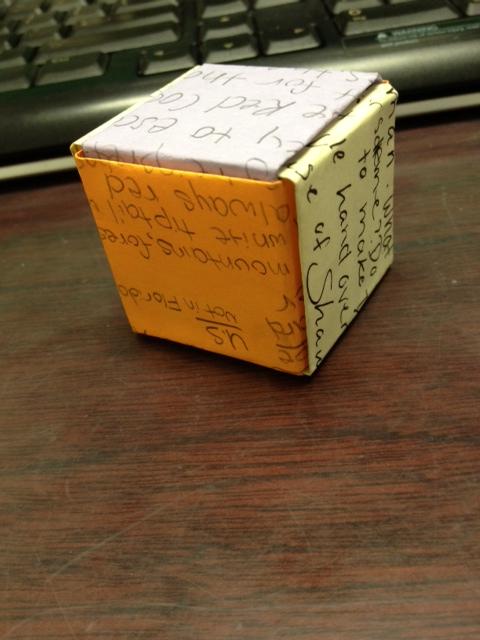 Origami 16 Jackson Cube