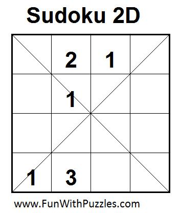 Sudoku 2D (Mini Sudoku Series #10)