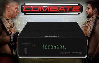 TOCOMSAT COMBAT HD V2.006 - ATUALIZAÇÃO 17/07/2015