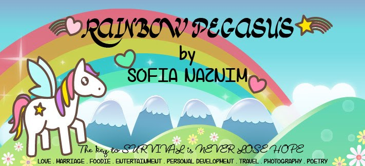 Rainbow Pegasus by Sofia Naznim