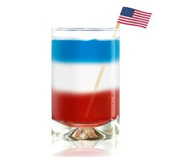 ... to have/serve? Here are a few recipes for some patriotic adult drinks