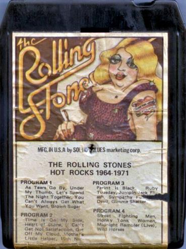 Rollingstonesvaults 8 Track Bootleg Tapes
