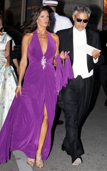 Andrea Bocelli & Veronica Berti Expecting Child in Spring 2012