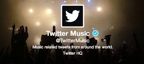 Perfil de Twitter Music