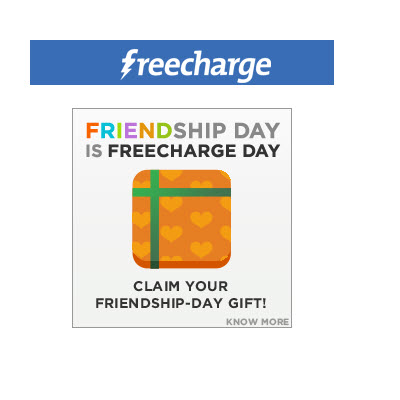 friendship day recharge offer