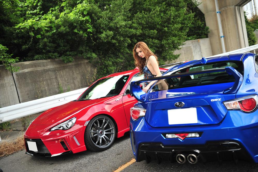 Subaru BRZ スバル, 日本車, チューニングカー, スポーツカー
