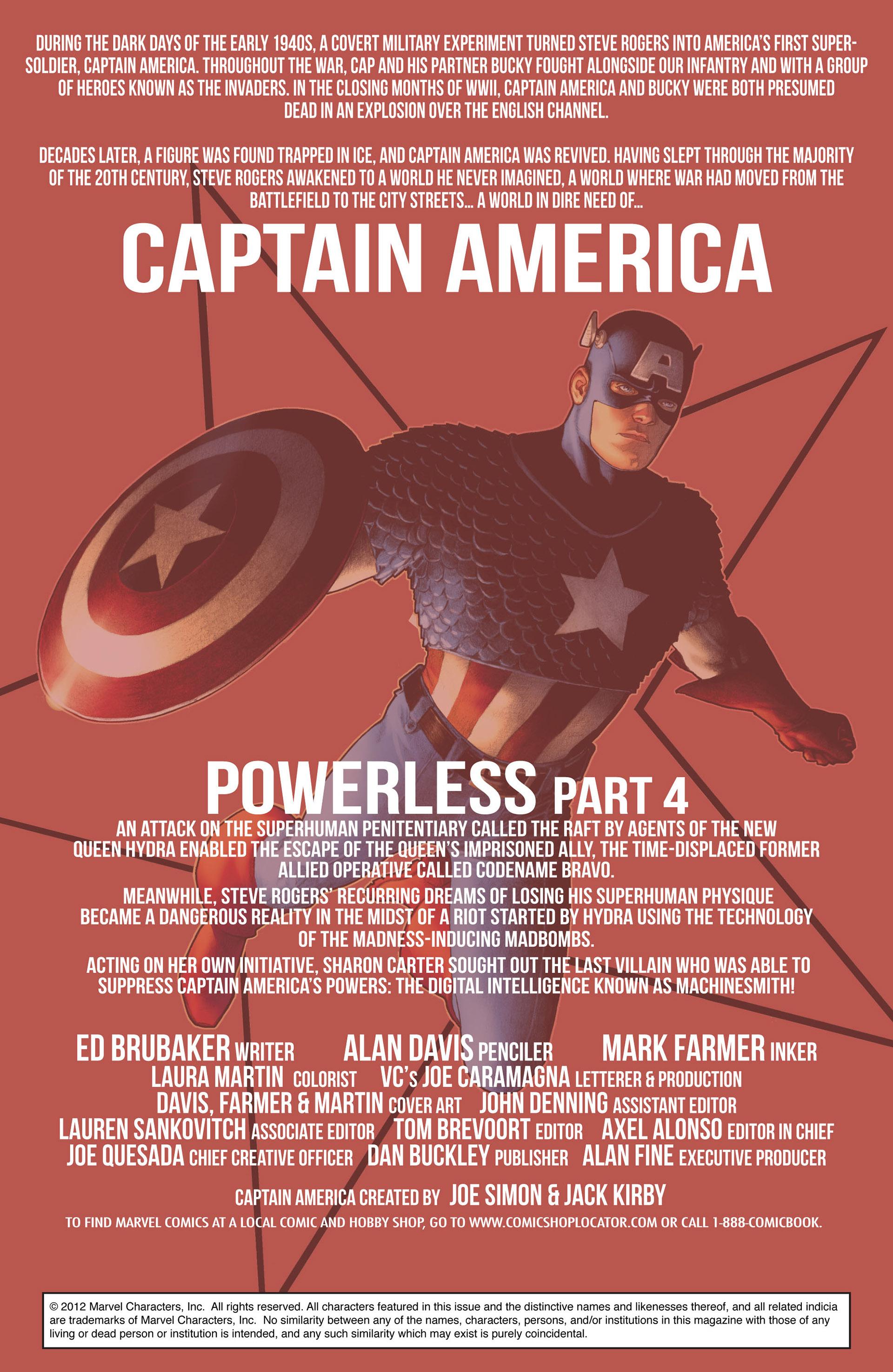 Captain America (2011) Issue #9 #9 - English 2