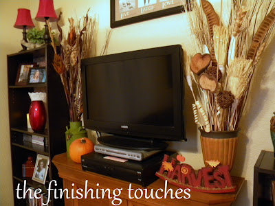fall decor, fall decorating, fall mantel