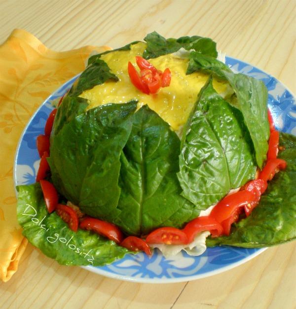 Dolcigolosità- zuccotto salato