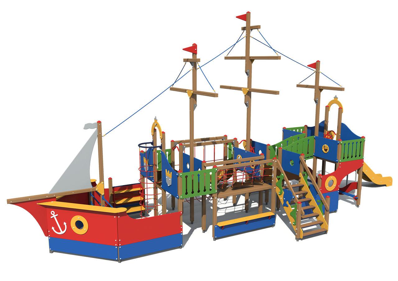 Корабли для площадки