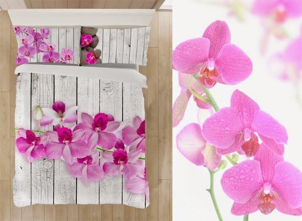 Funda nórdica orquidea