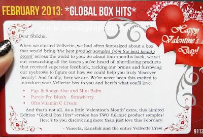 February Velvette Box