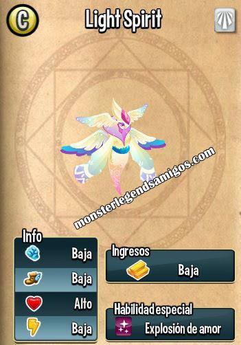 imagen de las caracteristicas de light spirit