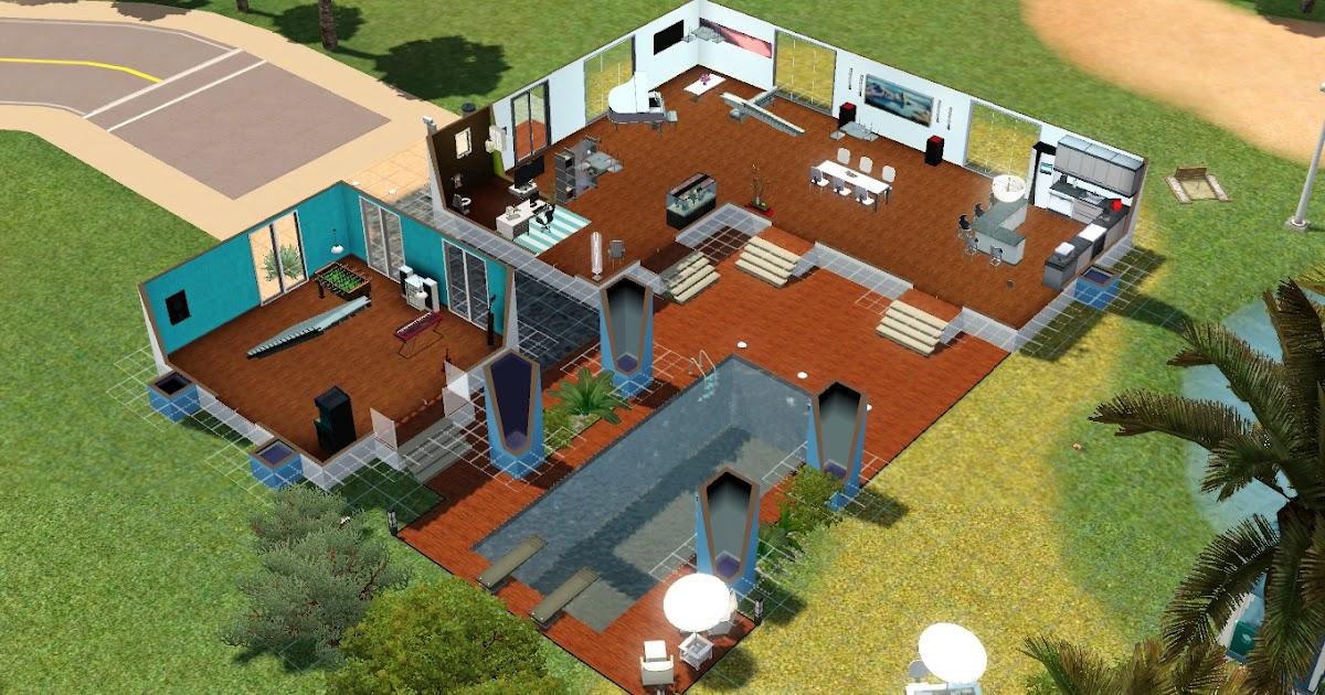 plan maison avec piscine interieure With superior plan de maisons gratuit 5 maison contemporaine avec piscine interieure apla