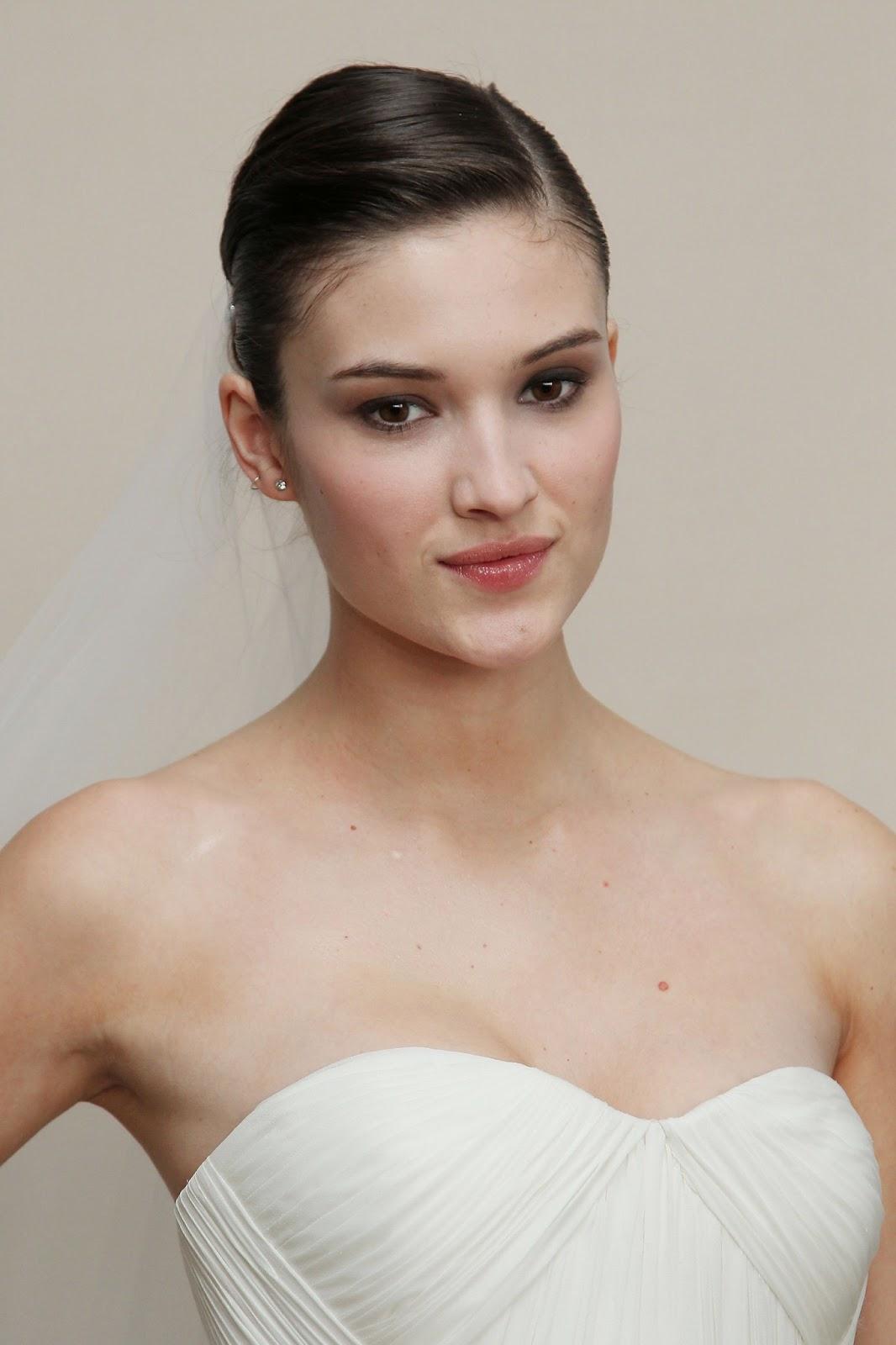 Natural Summer Wedding Makeup : Makeup: Gucci Westmans Natural Bridal Look For Marchesa S ...
