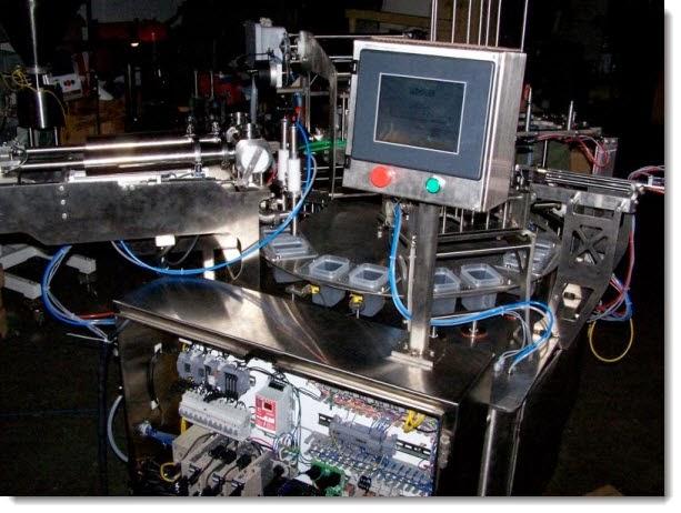 Maquinaria para análisis lácteo