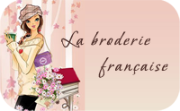 Являюсь соавтором прекрасного блога J'aime la broderie française