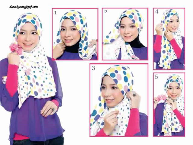 Style de Hijab Modene